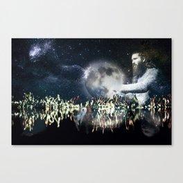 Saving space Canvas Print