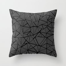 Abstraction Linear Throw Pillow