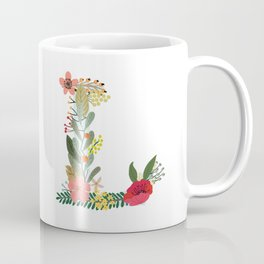Monogram Letter L Coffee Mug