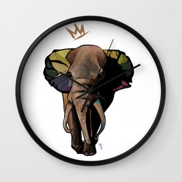 Stand Up and Stand Out Wall Clock