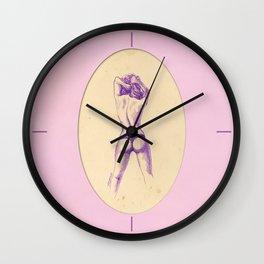 Sweet purple Wall Clock