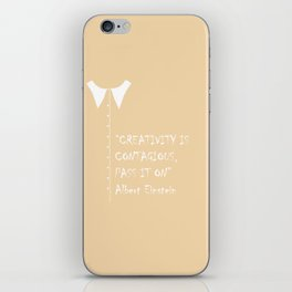 QUOTE-1 iPhone Skin