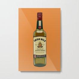 Irish Bile Jameson Metal Print
