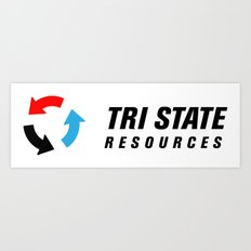 Tri State Art Print