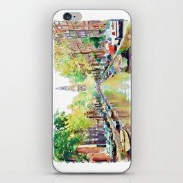 Amsterdam Canal 2 iPhone Skin