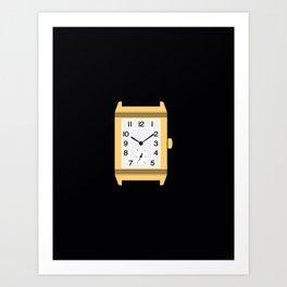 watch gold Art Print