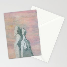 one flew over the statue Stationery Cards