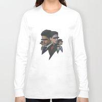 shark Long Sleeve T-shirts featuring Shark by fabiotir