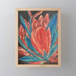 Fauve flower  Framed Mini Art Print