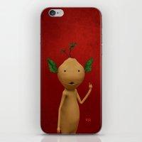 elf iPhone & iPod Skins featuring Elf by Adrián Sandá