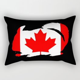 Canada Chinchilla Rectangular Pillow