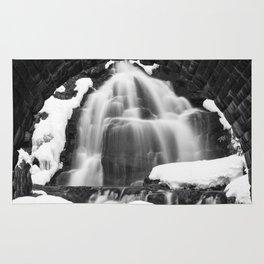 Winter Arch Waterfall Rug