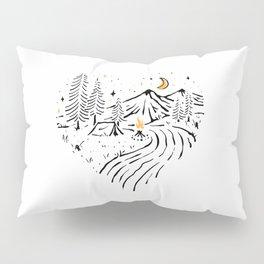 Camping in Love(for Light) Pillow Sham