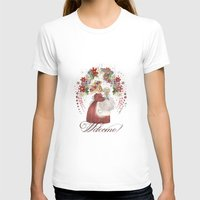 welcome T-shirts featuring Welcome! by I TOPI DI CICE