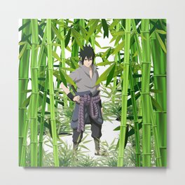 Hero anime 01 Metal Print