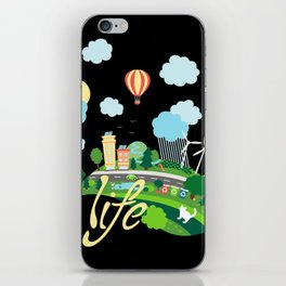 Eco Life iPhone Skin