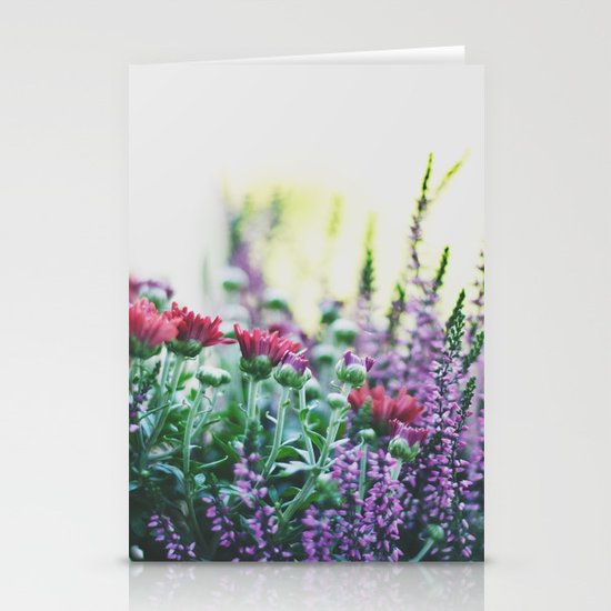 FANTASY COLORS Stationery Cards