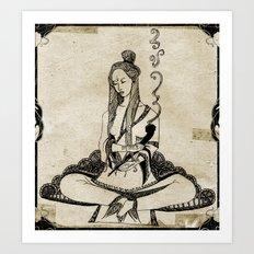 Shanti Art Print