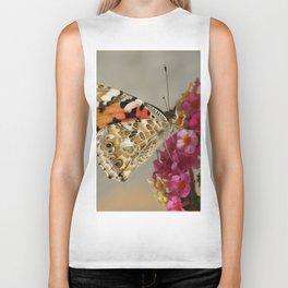 Butterfly Alight Biker Tank