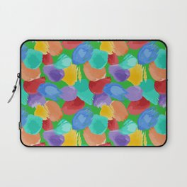Blobs Pattern Laptop Sleeve