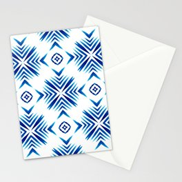 Shibori Blue Watercolour No.15 Stationery Cards