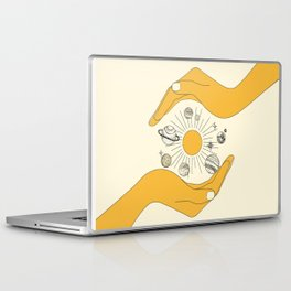 The Universe in Your Hands Laptop & iPad Skin