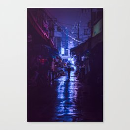 The market afterhours Canvas Print