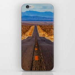 Desert Highway iPhone Skin