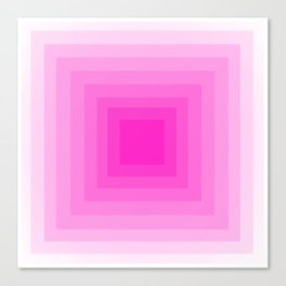 Fuschia Monochrome Canvas Print