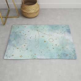 Baby Pisces - The Baby Zodiac Collection Rug