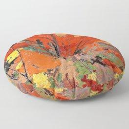 12,000pixel-500dpi - Tom Thomson - Autumn - Digital Remastered Edition Floor Pillow