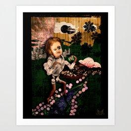 Sundae Frolick Art Print