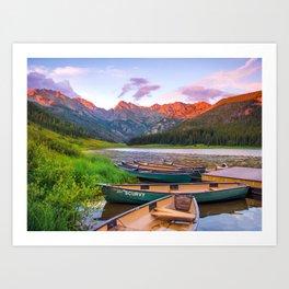 Piney Lake Art Print