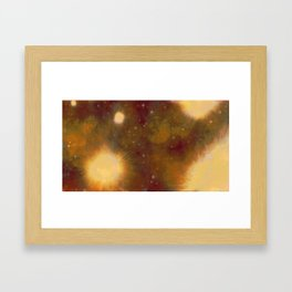 Never thought I was the enemy. Power to misconstrue. Framed Art Print