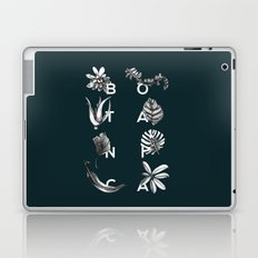 Botanica Letters | Forest Green Laptop & iPad Skin