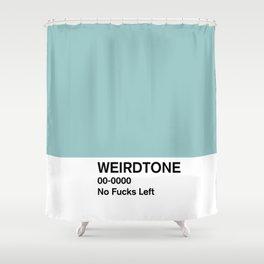 No Fucks Left Shower Curtain