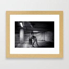 Extrovert vs Introvert Framed Art Print