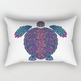 Alebrije Turtle 2 Rectangular Pillow
