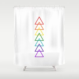 Rock the Chakras- no text Shower Curtain