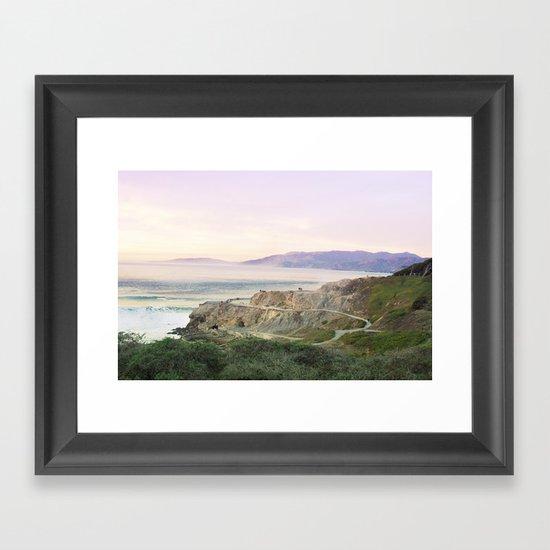Pacific 2 Framed Art Print