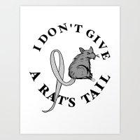 Rat Tail Art Print