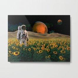 The Sunflower Field Metal Print