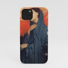Young Woman With Ibis By Edgar Degas iPhone Case