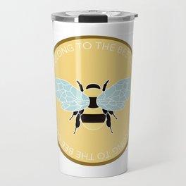 I Beelong - Bee Club Travel Mug