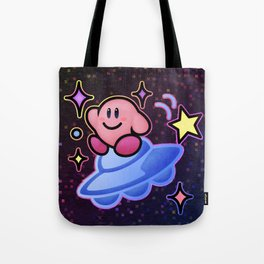 Kirby UFO (no text) Tote Bag
