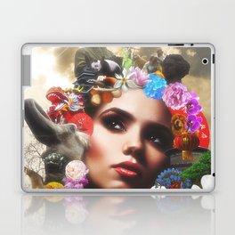 CHINESE HAIRSTYLE Laptop & iPad Skin