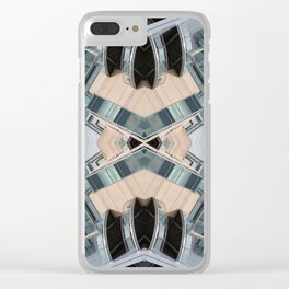 ORY 0812 - digital symmetry Clear iPhone Case