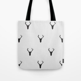 Black Deer Tote Bag