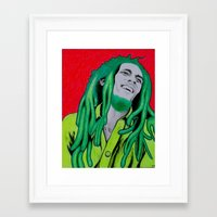 marley Framed Art Prints featuring Marley by Ty McKie Creations
