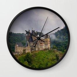 Eltz Castle Panorama Wall Clock